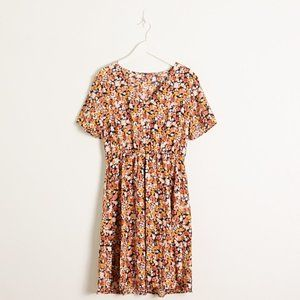 3 for $20 | SHEIN Floral Short Sleeve Dress